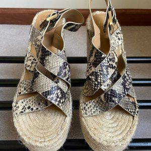 MARC FISHER Women Robbyn Espadrille Sandals - NEW